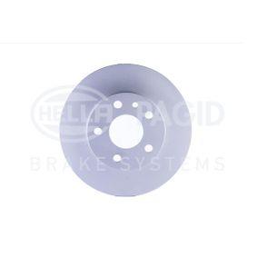 Bremsscheibe HELLA Art.No - 8DD 355 105-511 OEM: 60670804 für FIAT, ALFA ROMEO kaufen