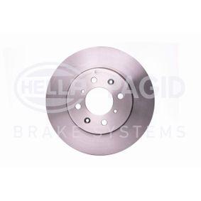 Спирачен диск HELLA Art.No - 8DD 355 105-861 OEM: SDB100500 за ROVER, MG купете