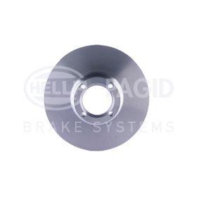 Bremsscheibe HELLA Art.No - 8DD 355 106-161 OEM: GBD806 für ROVER, INNOCENTI kaufen