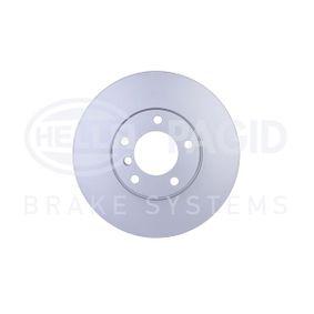 Bremsscheibe HELLA Art.No - 8DD 355 107-711 OEM: 34111165859 für BMW kaufen