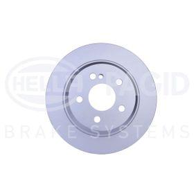 Bremsscheibe HELLA Art.No - 8DD 355 108-841 OEM: A2114230712 für MERCEDES-BENZ kaufen