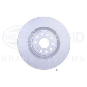 Спирачен диск HELLA Art.No - 8DD 355 109-541 OEM: 1K0615301AB за VW, AUDI, SKODA, SEAT купете