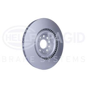 1K0615301AB за VW, AUDI, SKODA, SEAT, Спирачен диск HELLA (8DD 355 109-541) Онлайн магазин
