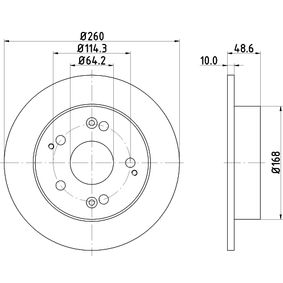 HELLA Filtro de aire motor 8DD 355 110-311