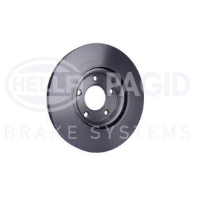 3 (BK) HELLA Disco de freno 8DD 355 110-891
