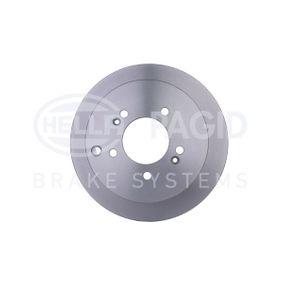 Bremsscheibe HELLA Art.No - 8DD 355 111-421 OEM: 584113A300 für HYUNDAI, KIA kaufen