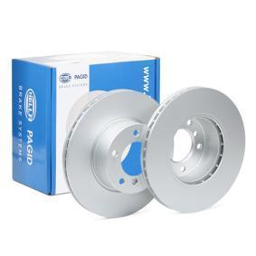 Bremsscheibe HELLA Art.No - 8DD 355 111-921 OEM: 34116854998 für BMW kaufen