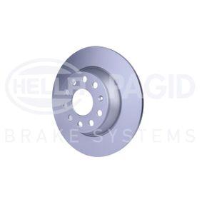 HELLA Спирачен диск 5Q0615601G за VW, AUDI, SKODA, SEAT купете
