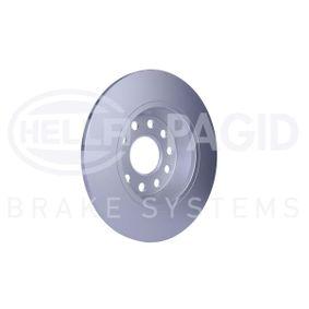 5Q0615601G за VW, AUDI, SKODA, SEAT, Спирачен диск HELLA (8DD 355 112-141) Онлайн магазин