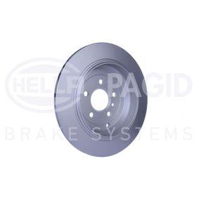 A1644231212 за MERCEDES-BENZ, DAIMLER, Спирачен диск HELLA (8DD 355 113-211) Онлайн магазин