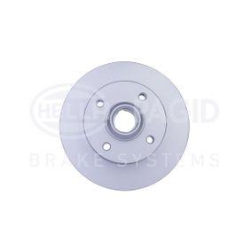 Bremsscheibe HELLA Art.No - 8DD 355 113-461 OEM: 191615601 für VW, AUDI, SKODA, SEAT, TALBOT kaufen