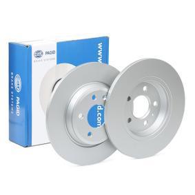 Bremsscheibe HELLA Art.No - 8DD 355 113-931 OEM: 08A75910 für BMW, JEEP kaufen