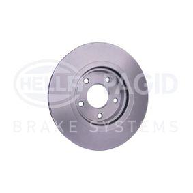 40206JD00B für NISSAN, INFINITI, Bremsscheibe HELLA (8DD 355 114-601) Online-Shop