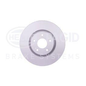 Bremsscheibe HELLA Art.No - 8DD 355 114-841 OEM: 4615A031 für MITSUBISHI kaufen