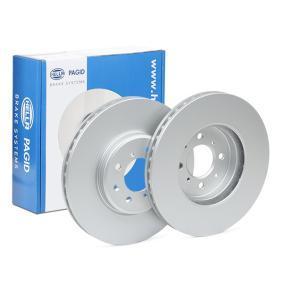 Спирачен диск HELLA Art.No - 8DD 355 114-921 OEM: SDB000440 за OPEL, LAND ROVER, ROVER, MG, MEGA купете