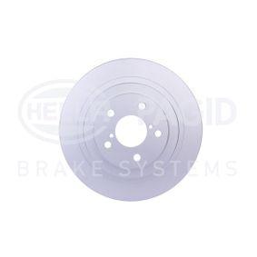 Bremsscheibe HELLA Art.No - 8DD 355 115-121 OEM: 26700AE081 für SUBARU, BEDFORD kaufen