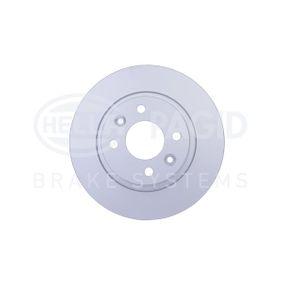 Bremsscheibe HELLA Art.No - 8DD 355 115-271 OEM: A4534200000 für MERCEDES-BENZ, SMART kaufen