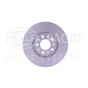Bremsscheibe HELLA Art.No - 8DD 355 116-631 OEM: 51767382 für FIAT, ALFA ROMEO, CHRYSLER kaufen