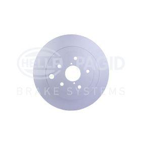 Bremsscheibe HELLA Art.No - 8DD 355 118-451 OEM: 26700FG010 für SUBARU, BEDFORD kaufen
