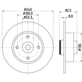 HELLA Endschalldämpfer 8DD 355 123-241