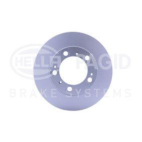 Bremsscheibe HELLA Art.No - 8DD 355 125-451 OEM: 98635140105 für VW, PORSCHE, LANCIA kaufen