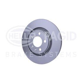 HELLA Bremsscheibe 1J0615301P für VW, AUDI, SKODA, SEAT, PORSCHE bestellen