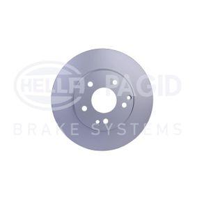 Bremsscheibe HELLA Art.No - 8DD 355 127-551 OEM: A210421241264 für MERCEDES-BENZ kaufen