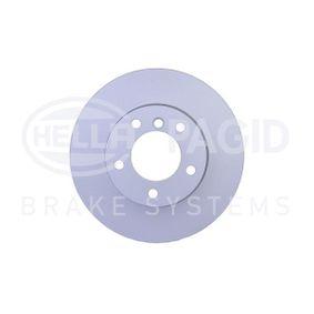 Bremsscheibe HELLA Art.No - 8DD 355 128-421 OEM: 34116854998 für BMW kaufen