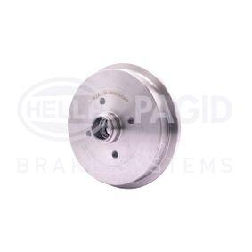 HELLA Bremstrommel 1H0501615A für VW, AUDI, FORD, SKODA, SEAT bestellen