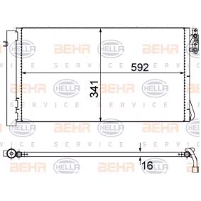 HELLA Kondensator Klimaanlage 8FC 351 302-624