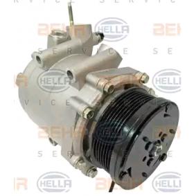 Kompresszor / alkatrészek (8FK 351 121-581) gyártó HELLA mert HONDA CIVIC 2.2 CTDi (FK3) 140 LE gyártási év 09.2005, 140 PS nyereségesen