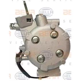 HELLA HONDA CIVIC - Kompresszor / alkatrészek (8FK 351 121-581) Test