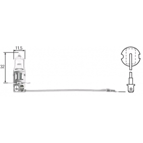 Bulb, headlight 8GH 002 090-151 online shop
