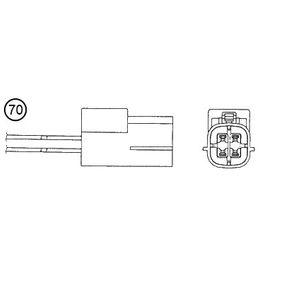 O2 Sensor 6497 NGK