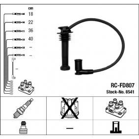 NGK gyújtókábel készlet fekete Art. Nr 8541 nyereségesen