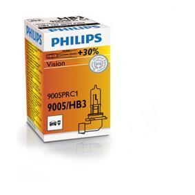 PHILIPS Крушка с нагреваема жичка, фар за дълги светлини 9005PRC1