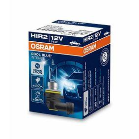 9012CBI Крушка с нагреваема жичка, фар за дълги светлини от OSRAM качествени части