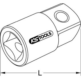 911.1234 Bussola di maggiorazione, Cricco di KS TOOLS attrezzi di qualità