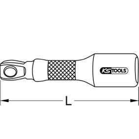 Verlängerung, Steckschlüssel von hersteller KS TOOLS 911.1381 online