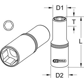 KS TOOLS Cheie dinamometrica, bujii incandescente 911.3823 magazin online