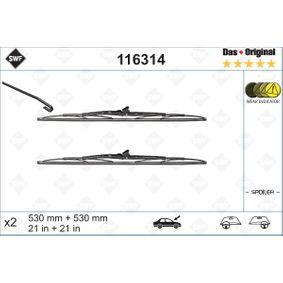 SWF Válvula EGR 116314 para JEEP GRAND CHEROKEE 2.7 CRD 4x4 163 CV comprar