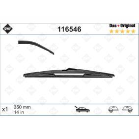 SWF Windscreen wipers 116546