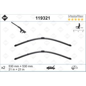 SWF 119321 Wischblatt OEM - 3B1955426B SEAT, SKODA, VW, VW (SVW) günstig