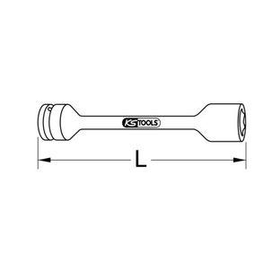 913.1291 Extractor de tornillos de KS TOOLS herramientas de calidad