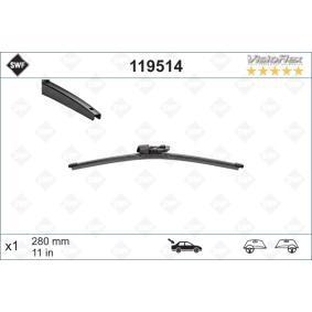 Scheibenwischer (119514) hertseller SWF für VW Golf Sportsvan (AM1, AN1) ab Baujahr 02.2014, 110 PS Online-Shop