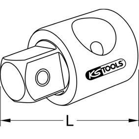 918.1261 Adaptador de ampliação, roquete de KS TOOLS ferramentas de qualidade