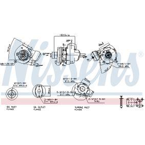 NISSENS BMW 3er Turbolader (93107)