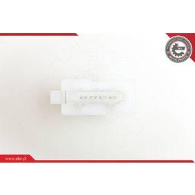 ESEN SKV Odpor vnitřního ventilátoru 95SKV005