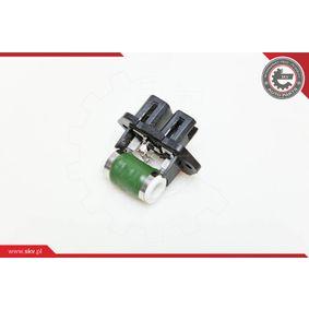 Blower motor resistor 95SKV011 ESEN SKV