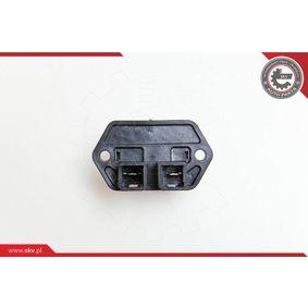 PUNTO (188) ESEN SKV Resistor interior blower 95SKV011
